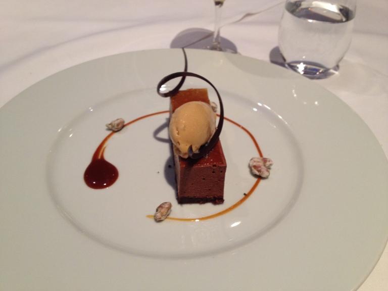Chocolate Brownie Parfait
