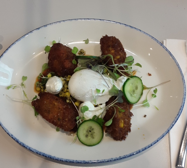 Sweetpotato and Corn Fritters