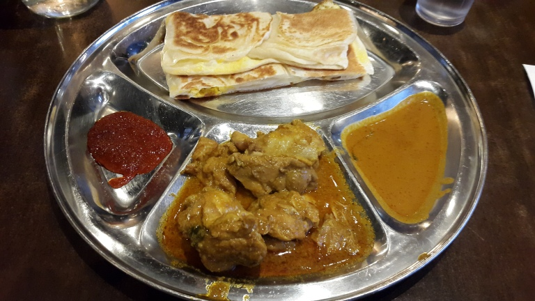 Roti Telur + Curry Chicken